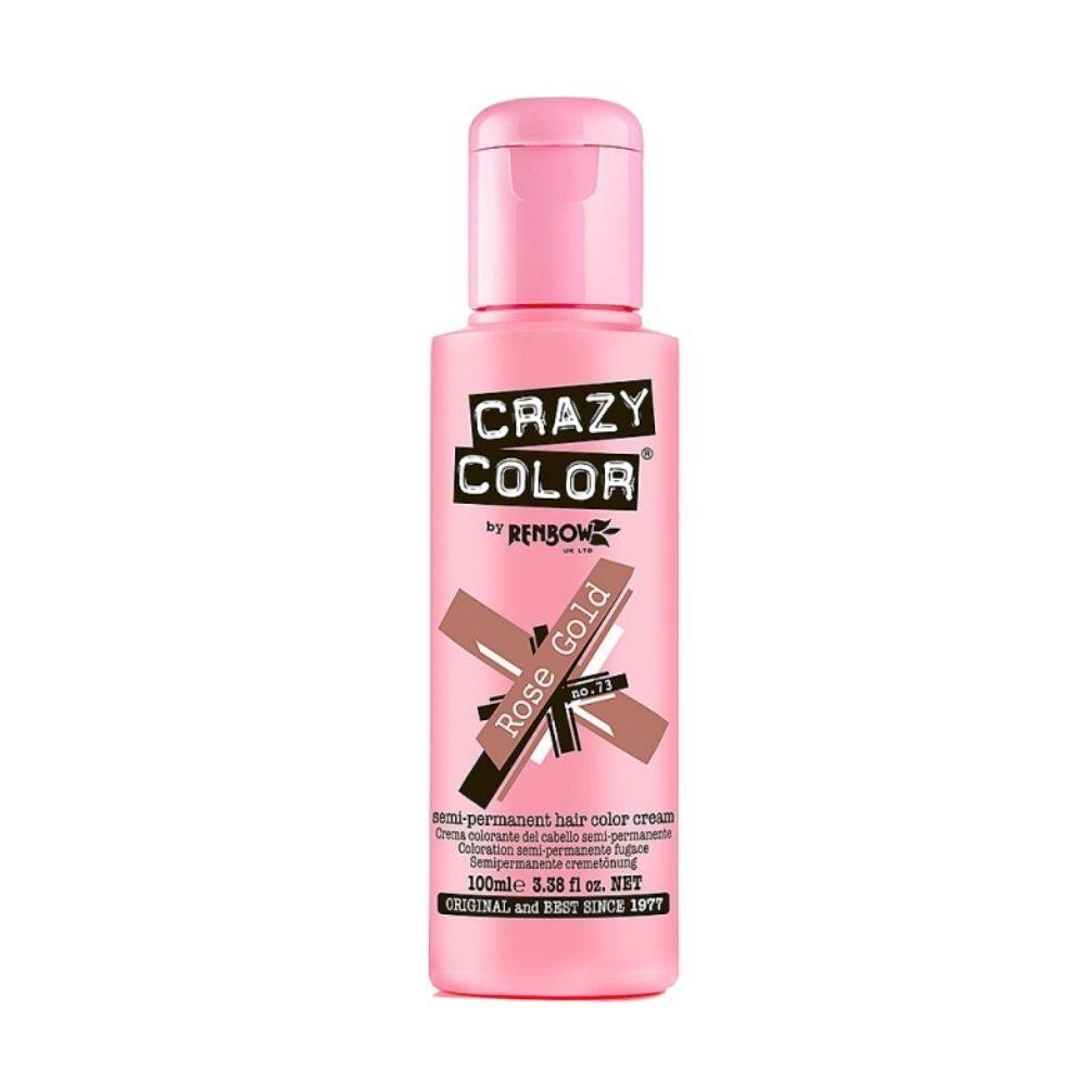 Crazy Color Semi Permanent Hair Colour Cream Burgundy 100ml