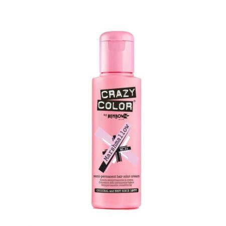 Crazy Color Semi Permanent Hair Colour Cream Marshmallow 100ml