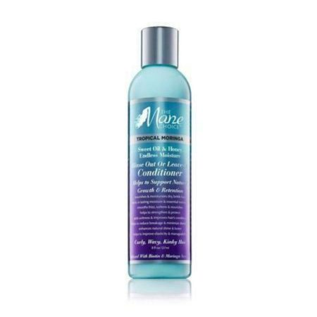 The Mane Choice Tropical Moringa Sweet Oil & Honey Endless Moisture Rinse Out 8oz or Leave-In Conditioner
