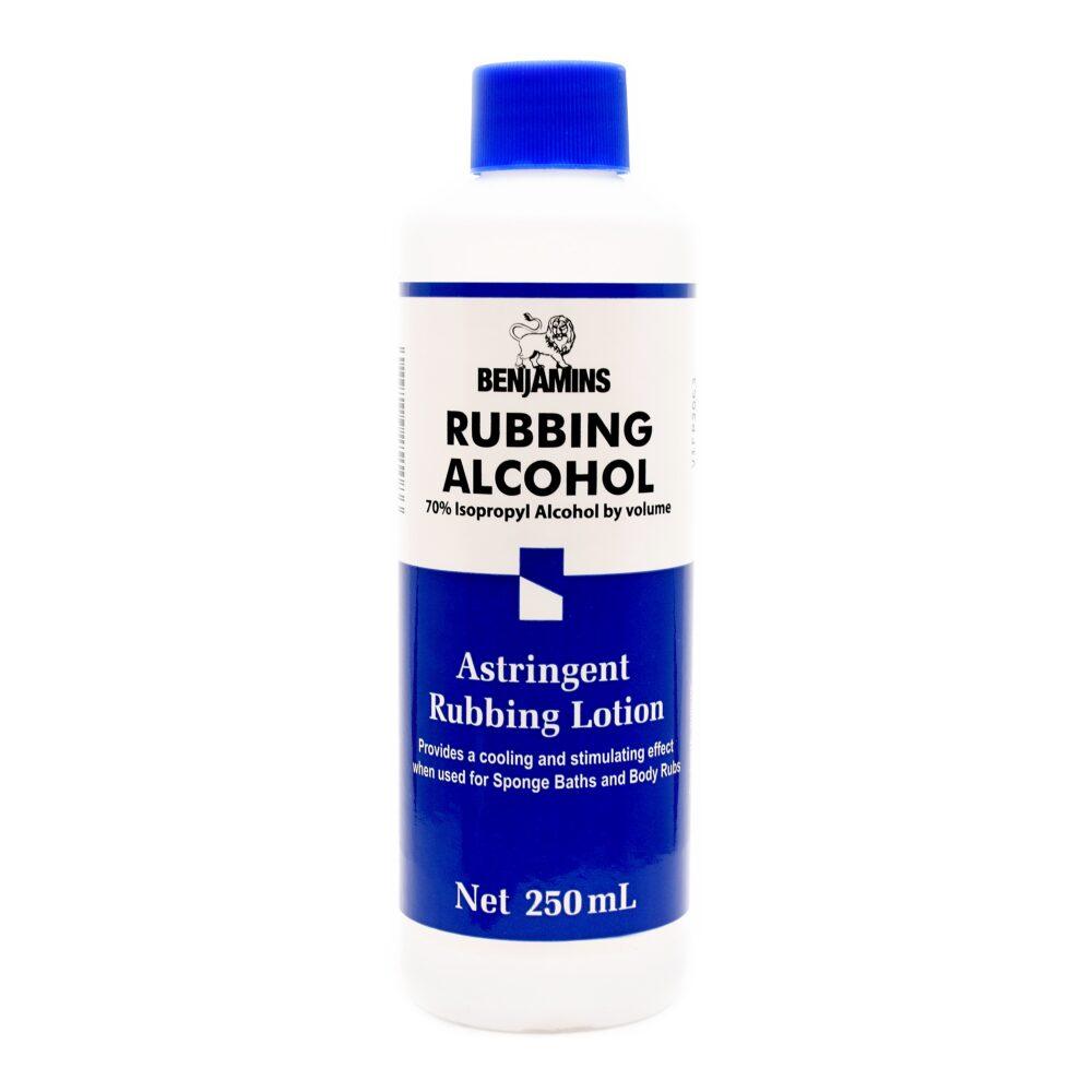 Benjamins Isopropyl Alcohol 70% Astringent Rubbing Lotion
