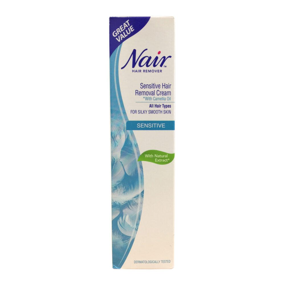 Nair Sensitive Formula Hair Removal Cream 80ml
