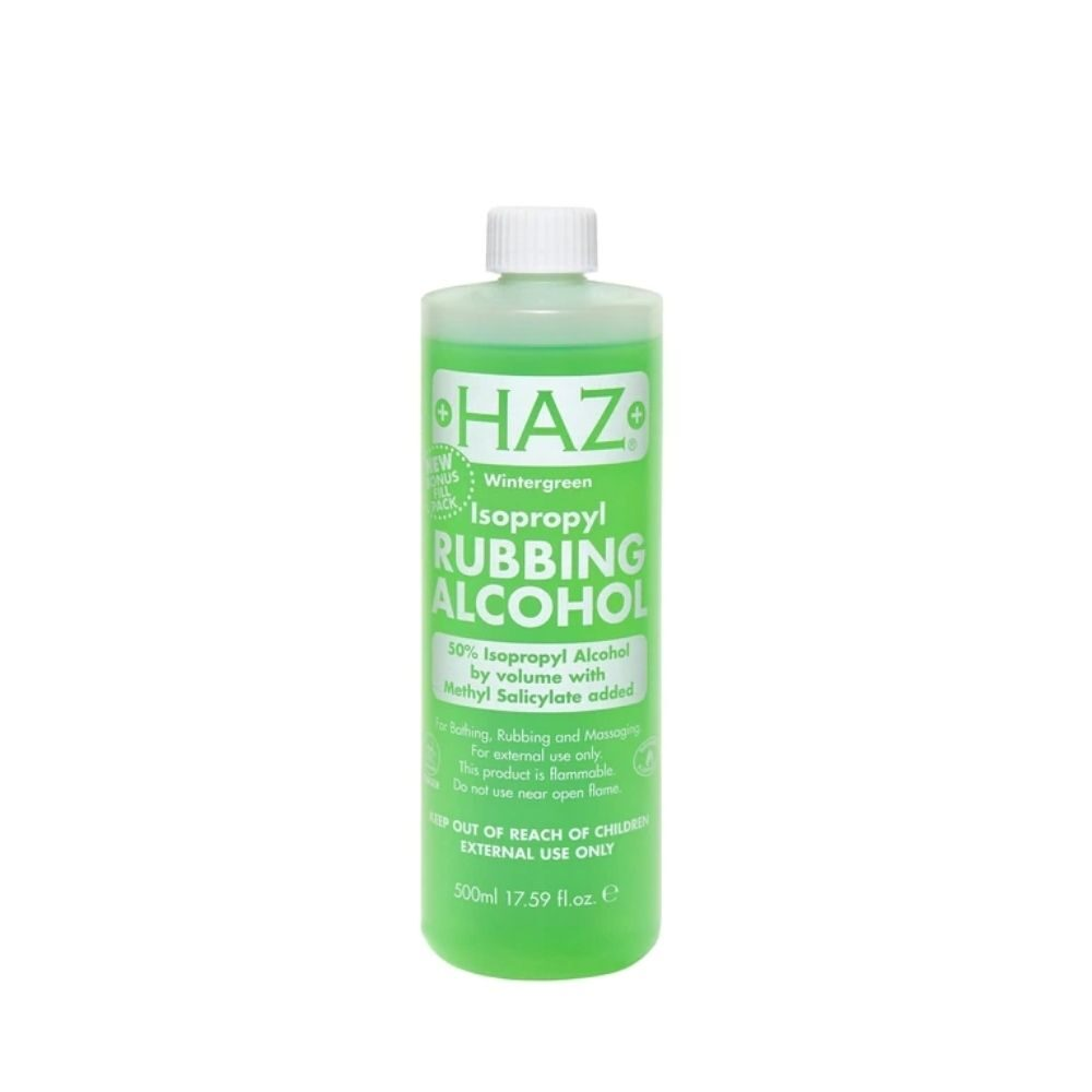 Haz 70% Wintegreen Rubbing Alcohol
