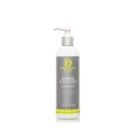 Design Essentials Almond & Avocado Moisturising & Detangling Leave-In Conditioner 12oz