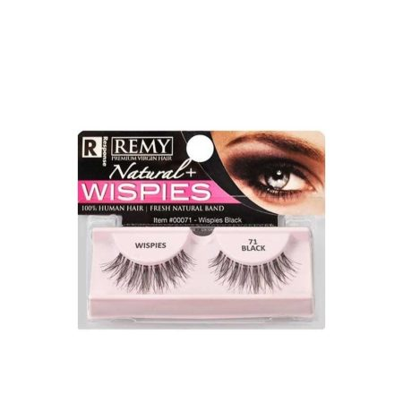 Remy Wispies 71 Lashes