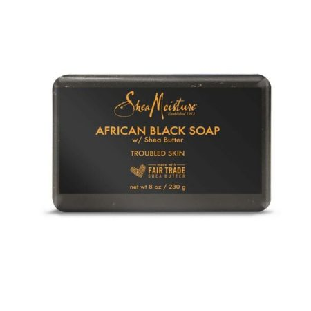 Shea Moisture African Black Soap with Shea Butter 230g