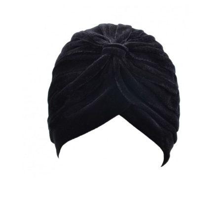Black Velvet Turban