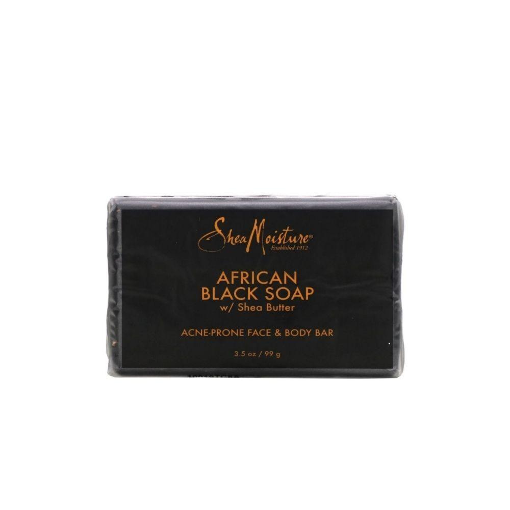 Shea Moisture African Black Soap Bar Soap 99g