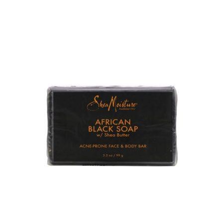 Shea Moisture African Black Soap Face Bar Soap 99g