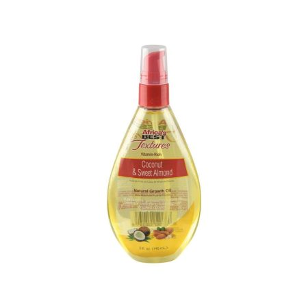 Africa's Best Textures Coconut & Sweet Almond Natural Growth Oil 5oz