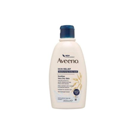 Aveeno Skin Relief Fragrance-Free Moisturising Body Wash 300ml