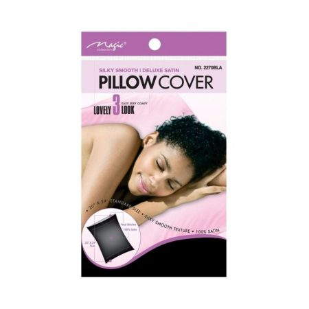2270BLA Satin Pillow Cover