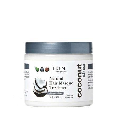Eden Body Works Natural Coconut Shea Masque Treatment 16oz