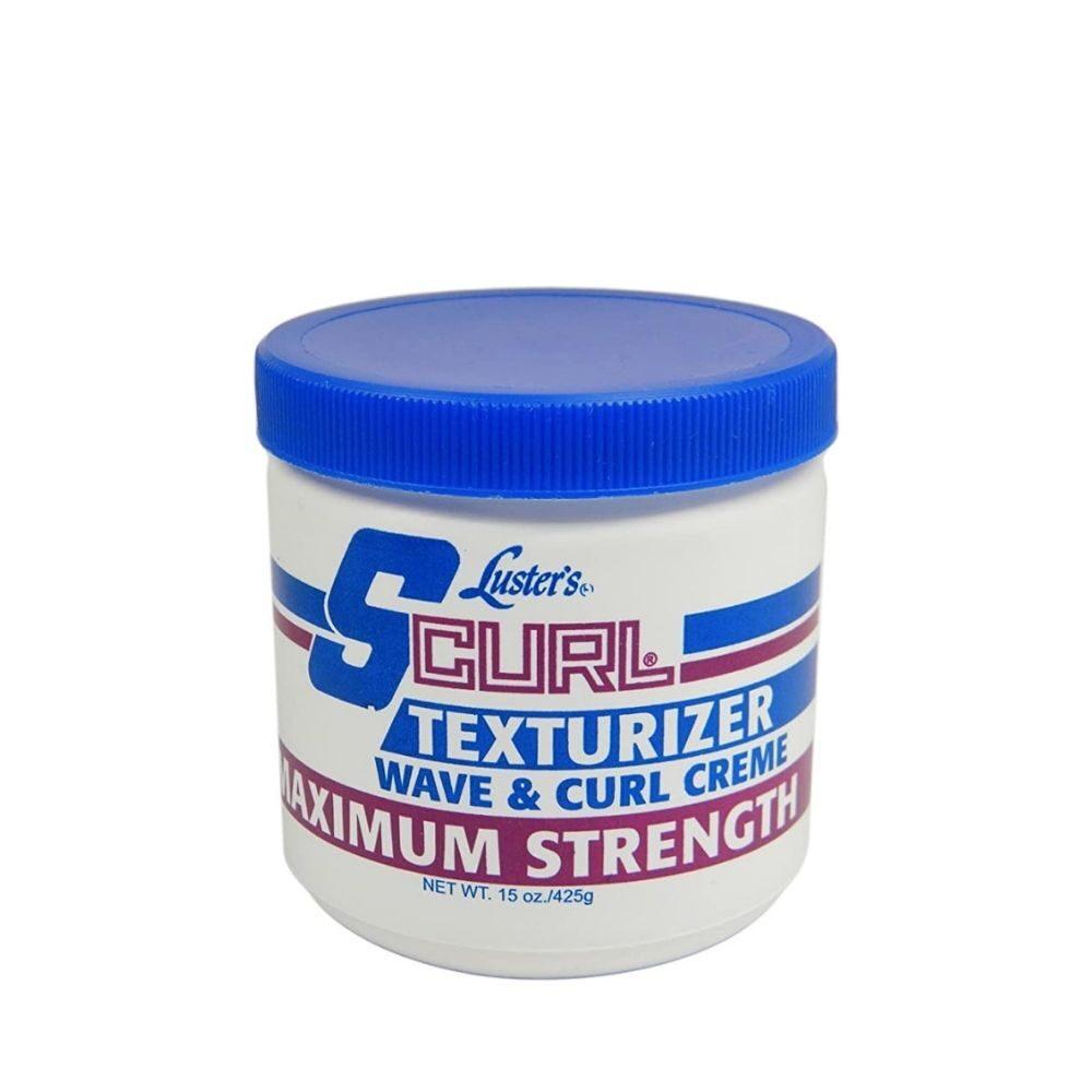 S Curl Maximum Strength Texturizer Jar