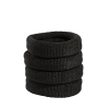 Black Fabric Hairbands (12 Pack)