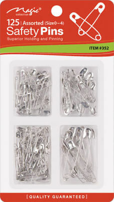 352 - 125 (Sizes 0-4) Safety Pins