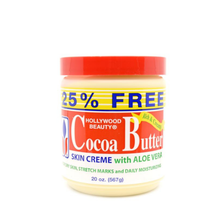 Hollywood Beauty Cocoa Butter with Aloe Vera 20oz