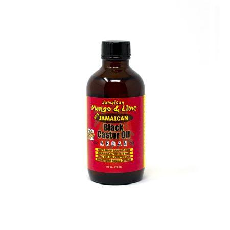 Jamaican Mango & Lime Jamaican Black Castor Oil with Argan Oil 4oz
