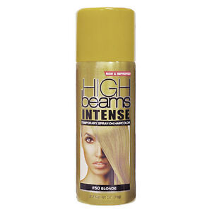 High Beams Intense Temporary Spray On Hair Colour Blonde 80ml