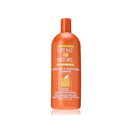 Creme Of Nature Sunflower & Coconut Detangling Shampoo 32oz