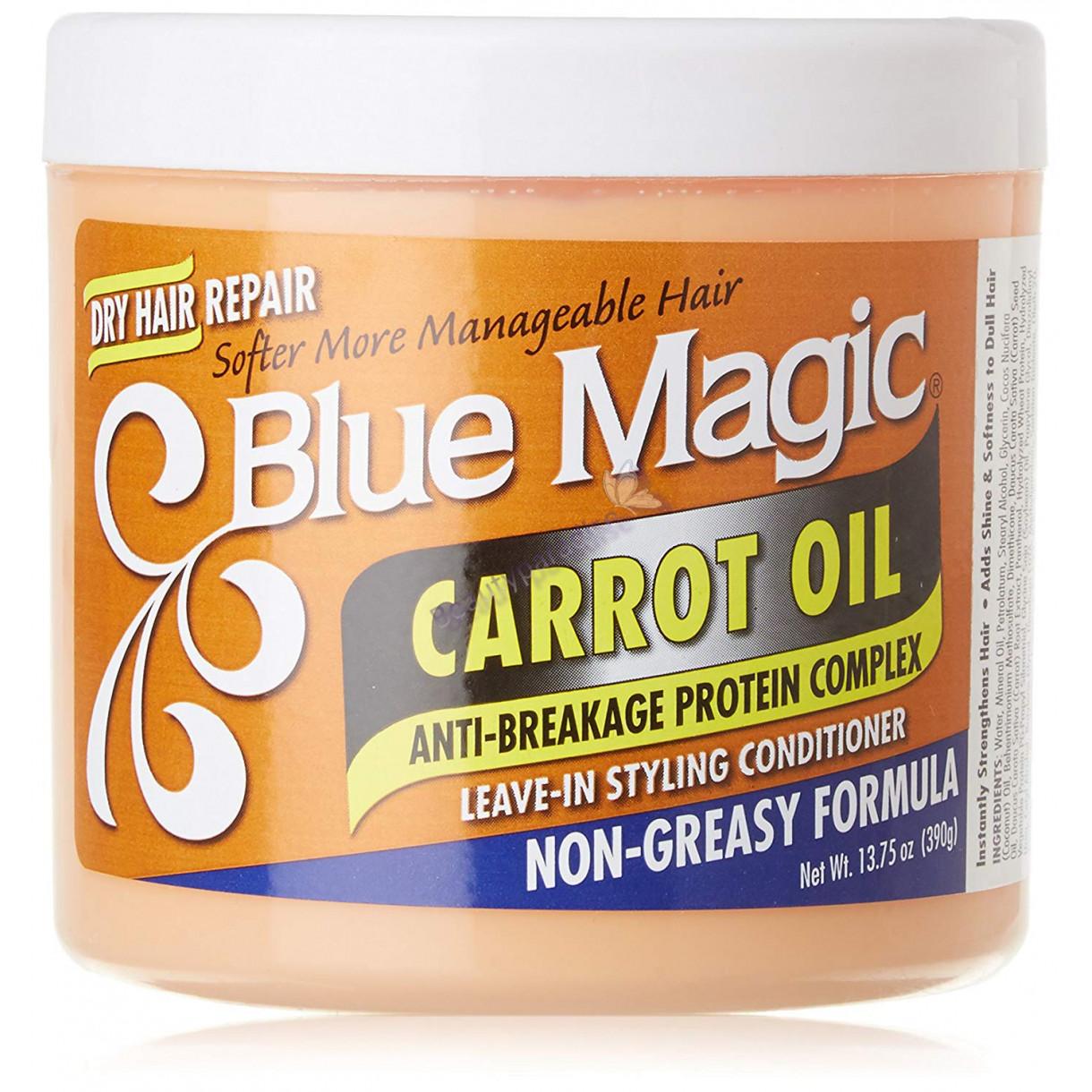 blue magic carrot