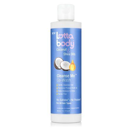 Lottabody Coconut & Shea Butter Oils Cleanse Me Co-Wash 10oz