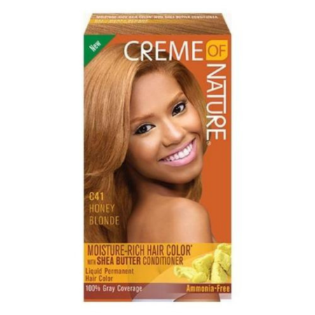 Creme of Nature Shea Butter Hair Red Hot Burgundy C30 Hair Colour Kit
